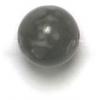 Semi-Precious 8mm Round Gray Onyx